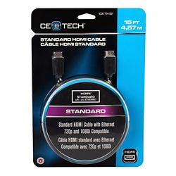 Commercial Electric 15 Feet Standard HDMI Cable