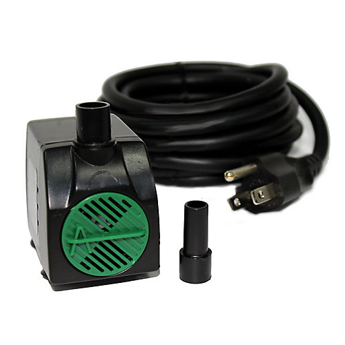 140 GPH Fountain Pump with 10 ft. Cord