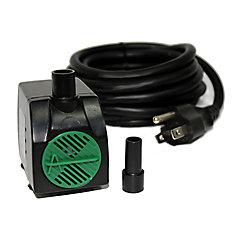 Pompe de fontaine avec cordon de 3 m  - 550 LPH