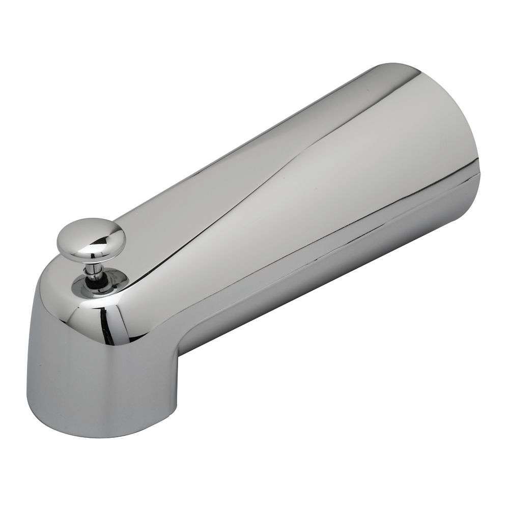 7Inch Tub Spout with Diverter - Slip On