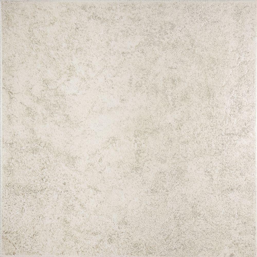 Dakota 12-inch x 12-inch Floor Tile in Sand (15 sq. ft./case)