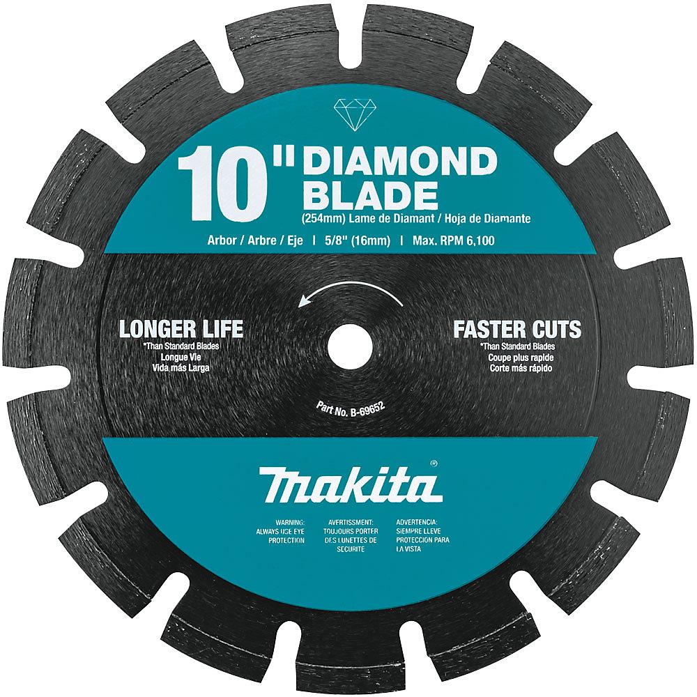 10-inch Segmented Dual Purpose Diamond Blade