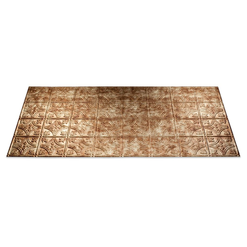 Traditional 1 Bermuda Bronze Ceiling Tile - 2x4