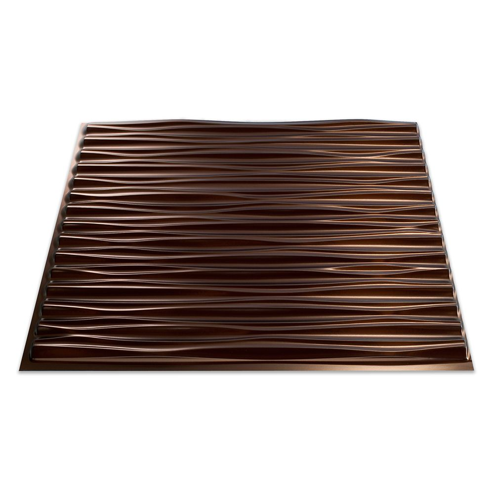 Dunes Oil Rubbed Bronze Ceiling Tile -2x2