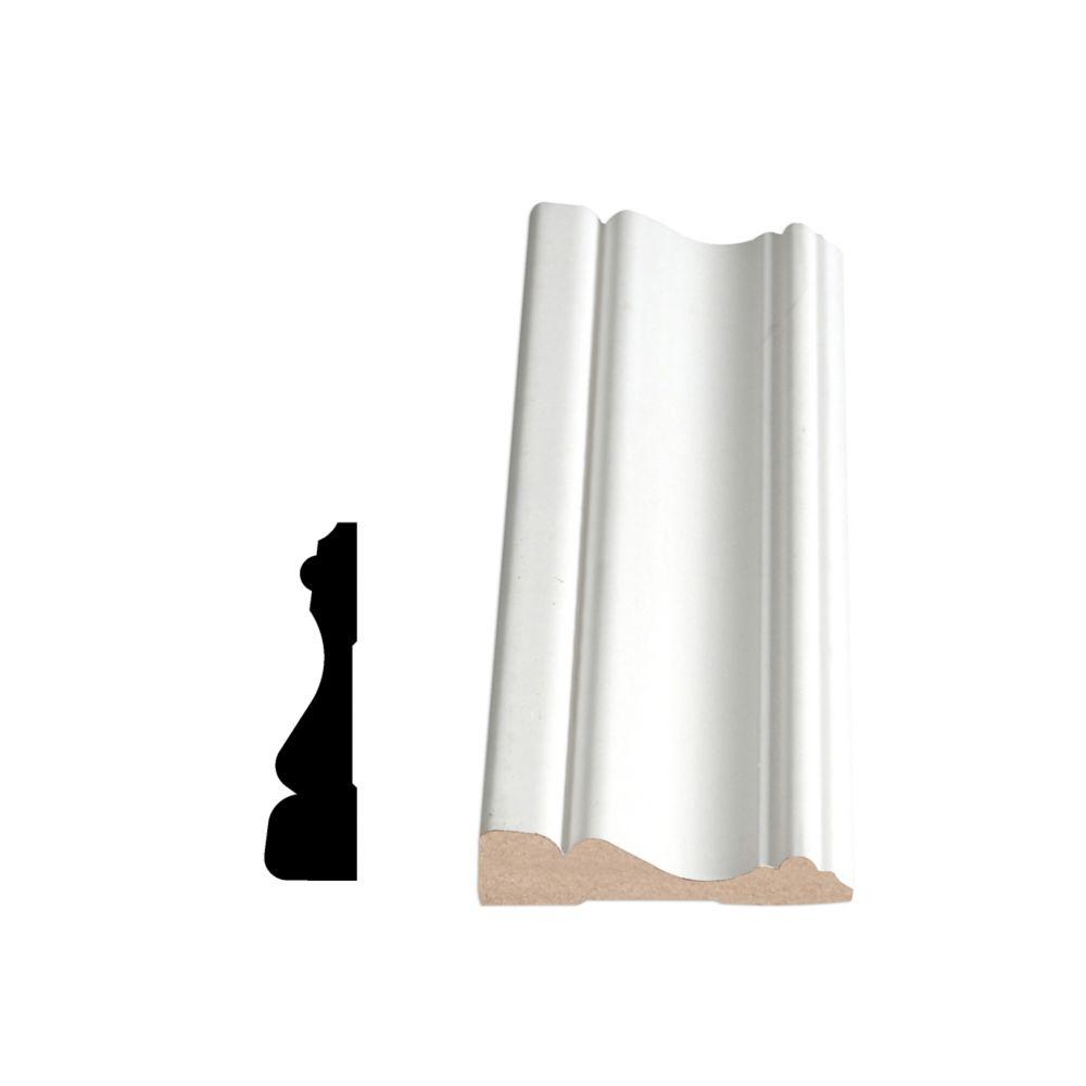 Primed Fibreboard Casing 5/8 Inch X 2-1/2 Inch
