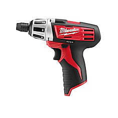 M12 12V Lithium-Ion Cordless 1/4-Inch Hex Screwdriver (Tool-Only)