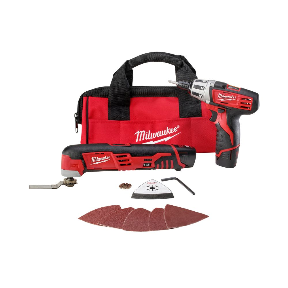 M12 Cordless Lithium-ion Two-Piece Combo Kit