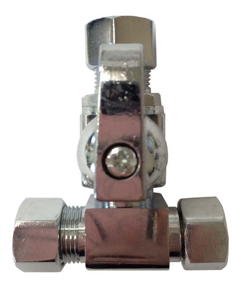 Add-A-Stop Compression Tee Valve 3/8 Inch x 3/8 Inch x 3/8 Inch