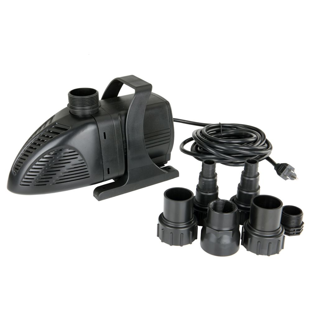 Garden pond pumps canada discount for Best pond pump for small pond