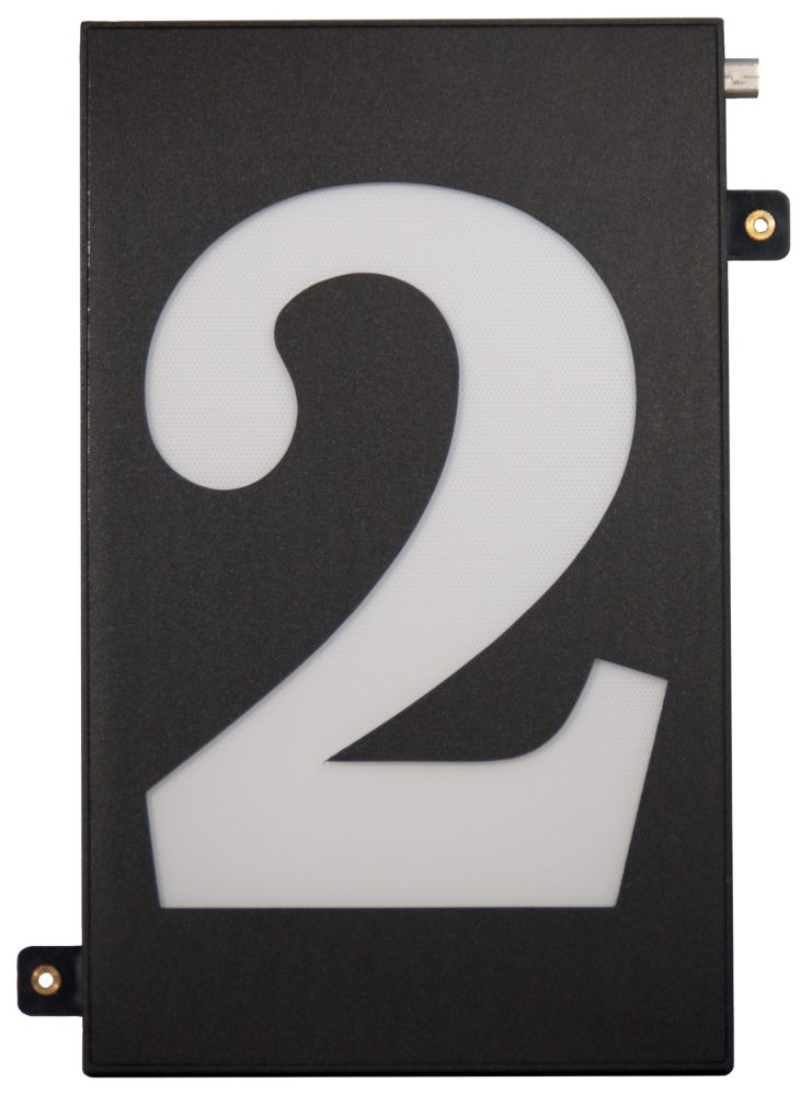 Designer's Choice Super Bright Modular House Number 2