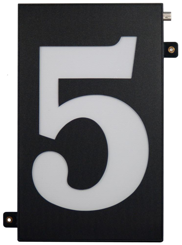 Super Bright Numérotation modulaire à DEL des habitations - 5