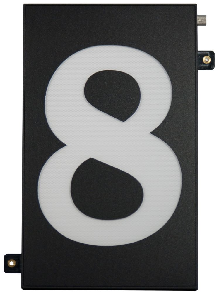 Designer's Choice Super Bright Modular House Number 8