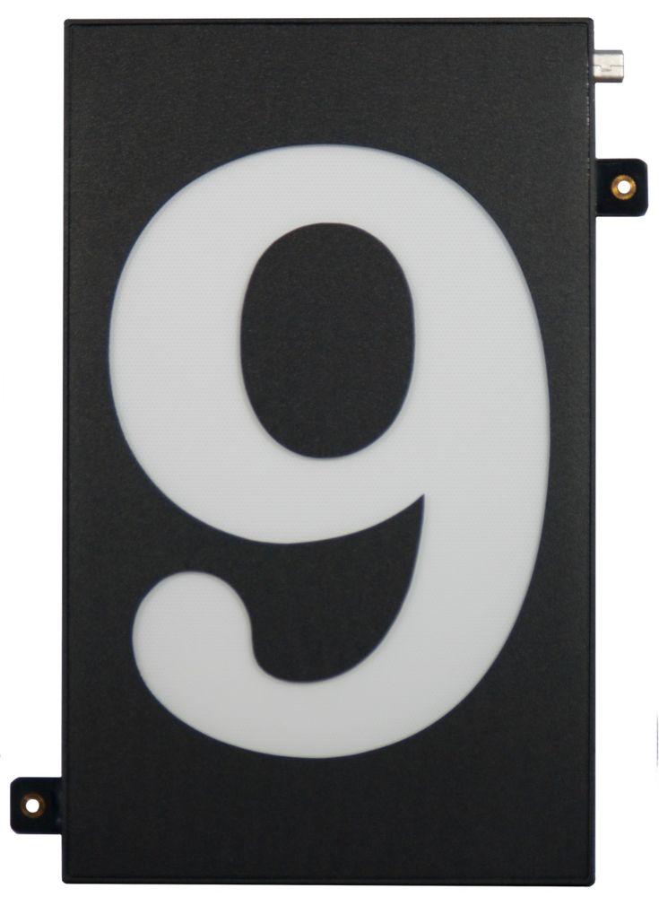 Designer's Choice Super Bright Modular House Number 9