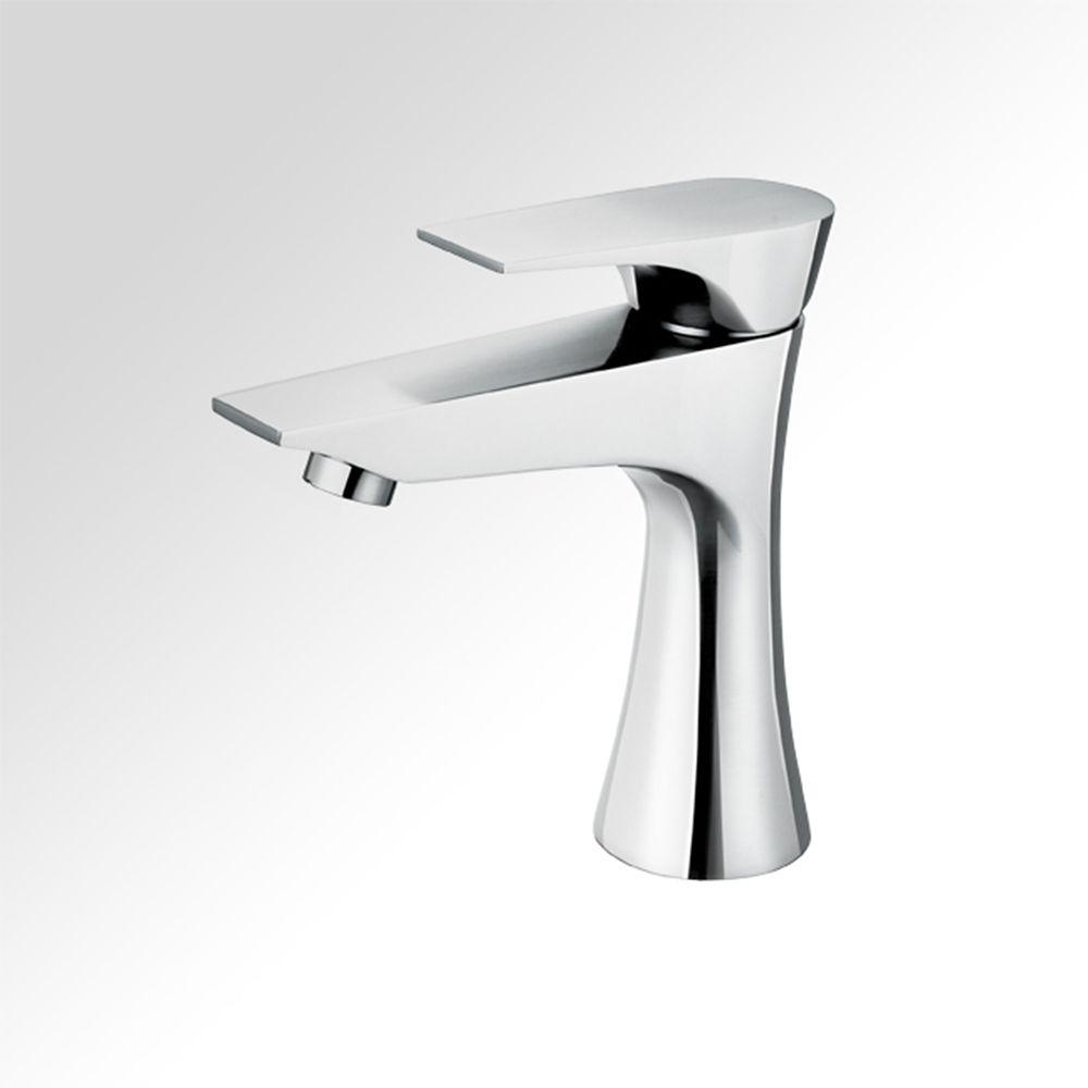 Diva Single-Lever Bathroom Faucet in Chrome Finish