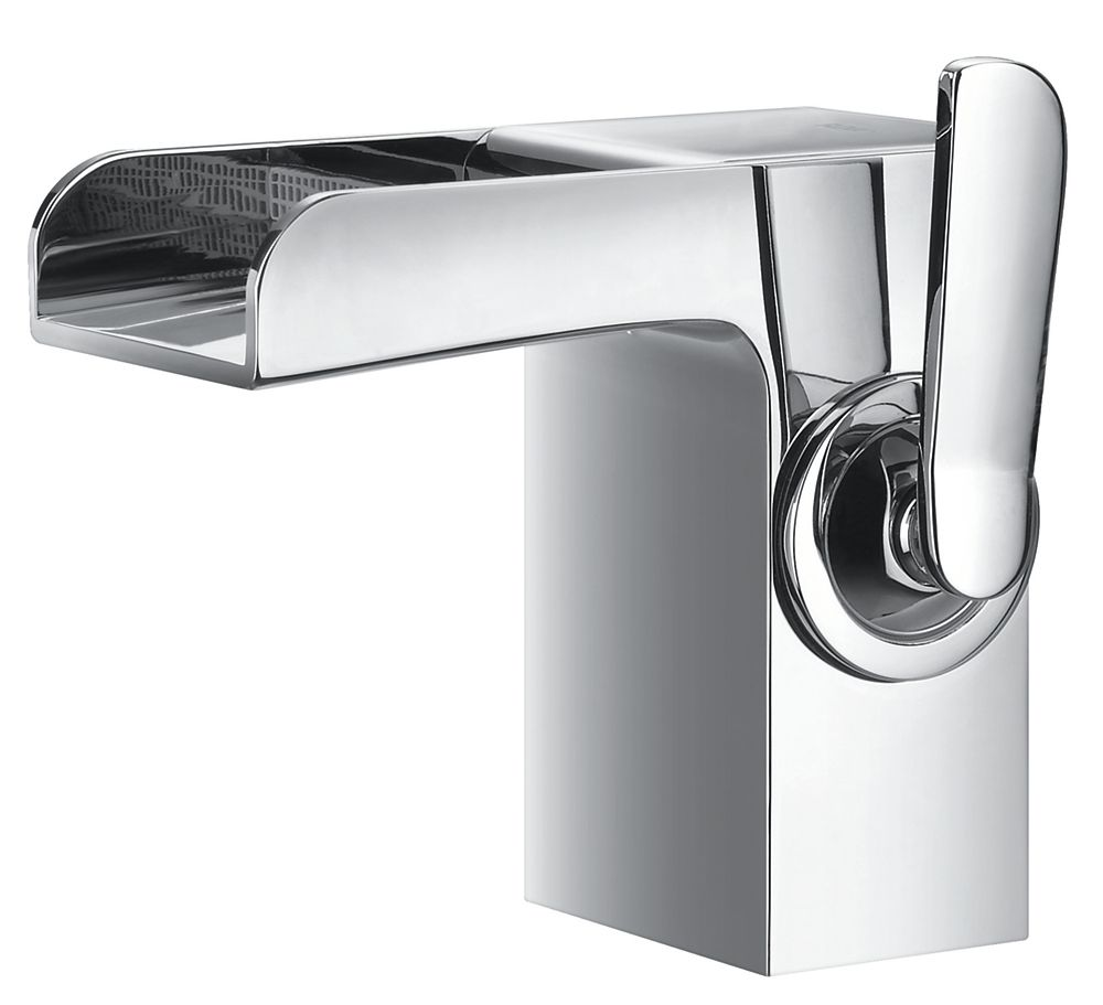Rainfall Single-Lever Bathroom Faucet in Chrome Finish