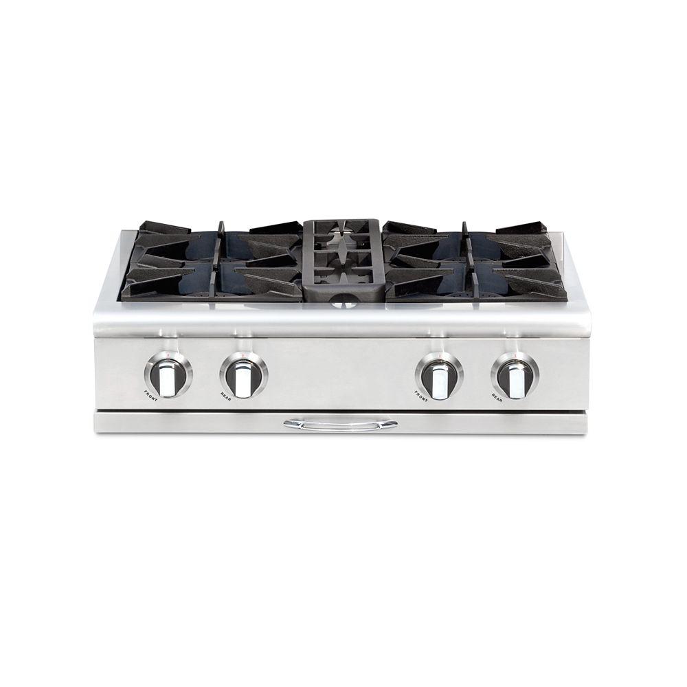Capital Culinarian Series: 30 Inch 4 Open Top Burners Range Top NG
