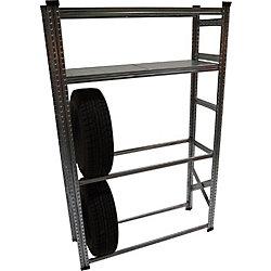 Metalsistem Heavy Duty Tire Rack and Shelving Kit