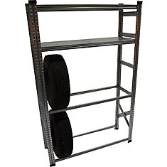 Heavy Duty Tire Rack and Shelving Kit