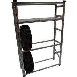 Metalsistem Heavy Duty Tire Rack and Shelving Kit