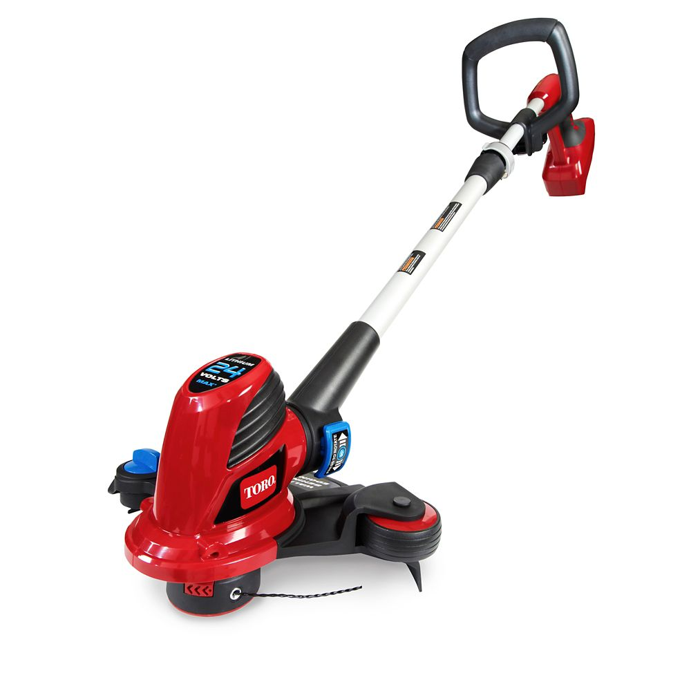 12-inch 24V Lithium-Ion Shaft Trimmer and Edger