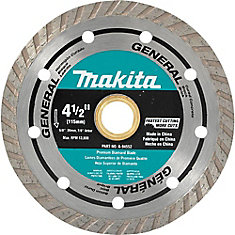 4 1/2-inch Turbo Diamond Blade