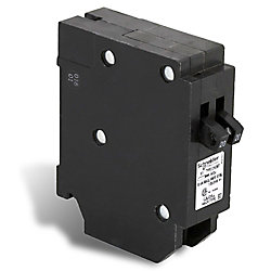 Schneider Electric - HomeLine Disjoncteurs en tandem Homeline de 20A-20A unipolaire