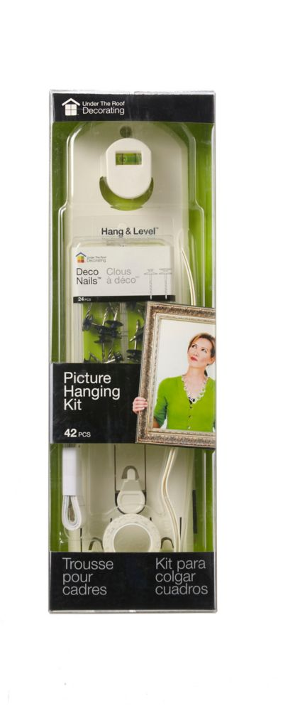 42Pc Hang&Level<sup>®</sup> Picture Hanging Kit