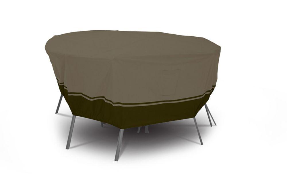 Veranda Elite Round Medium Patio Furniture Set Cover