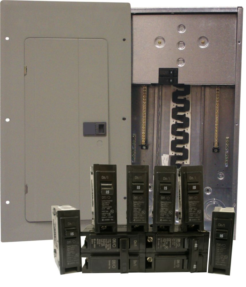 Ez Pack 100A 20 Space Panel/Breakers