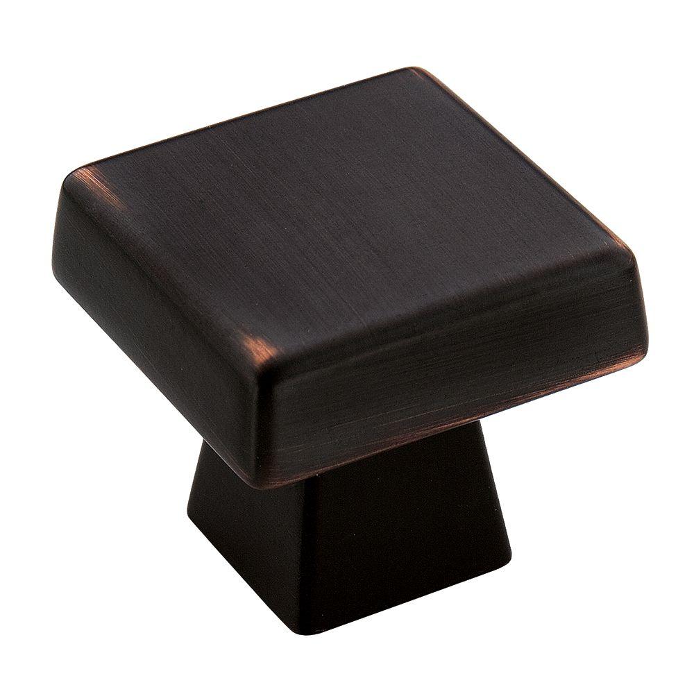 Amerock Blackrock 1-1/2 Inch (38mm) LGTH Knob - Oil-Rubbed Bronze