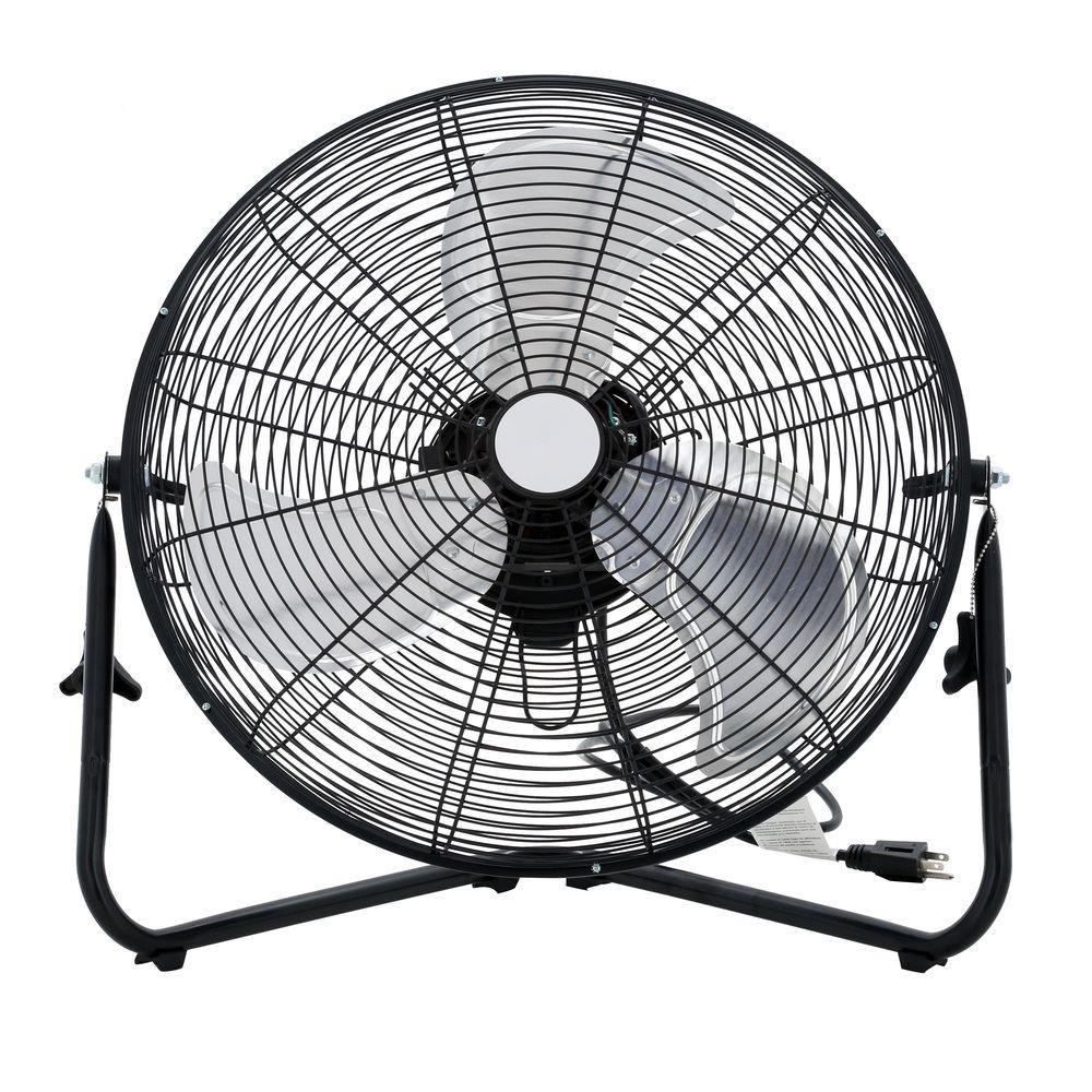 20 pouces haute vitesse ventilateur de plancher