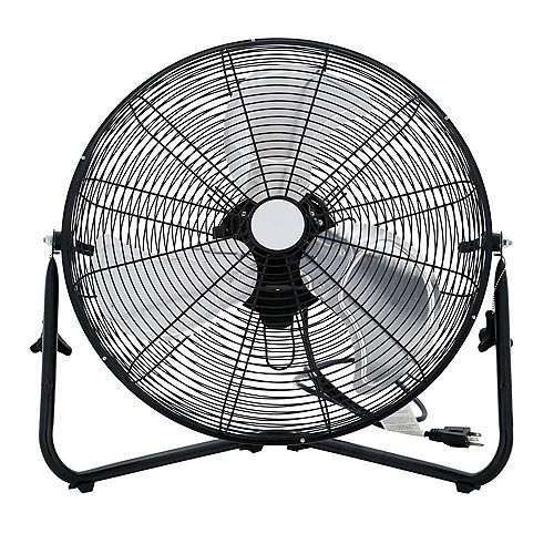 HDX 20-inch 3-Speed High-Velocity Floor Fan