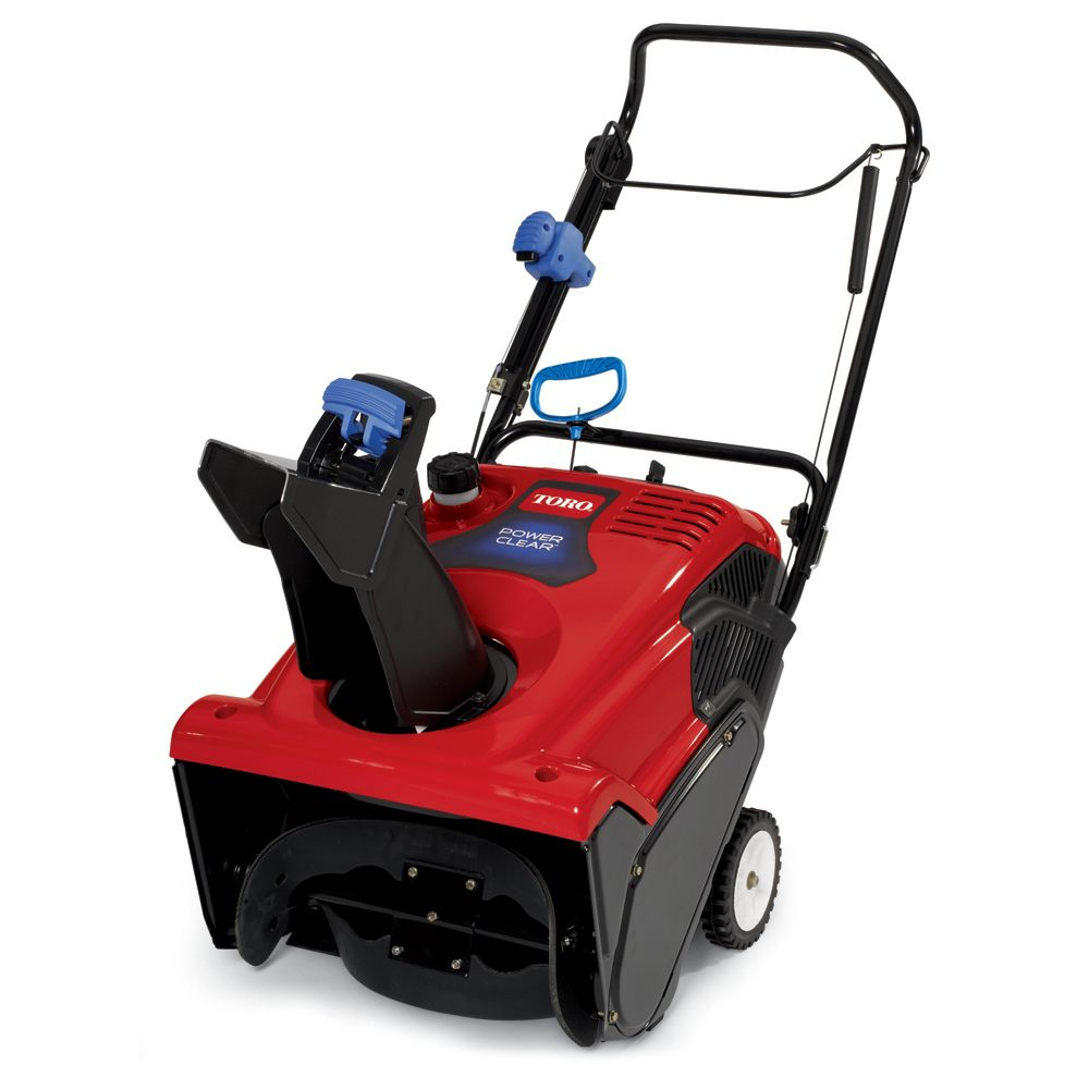 Power Clear 621QZE Single Stage Snow Blower - 21 Inch - Reconditioned