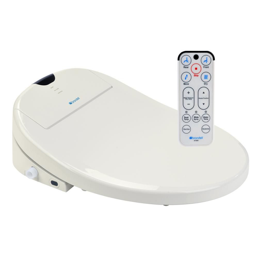 Biscuit Round Heated Bidet Toilet Seat-S1000
