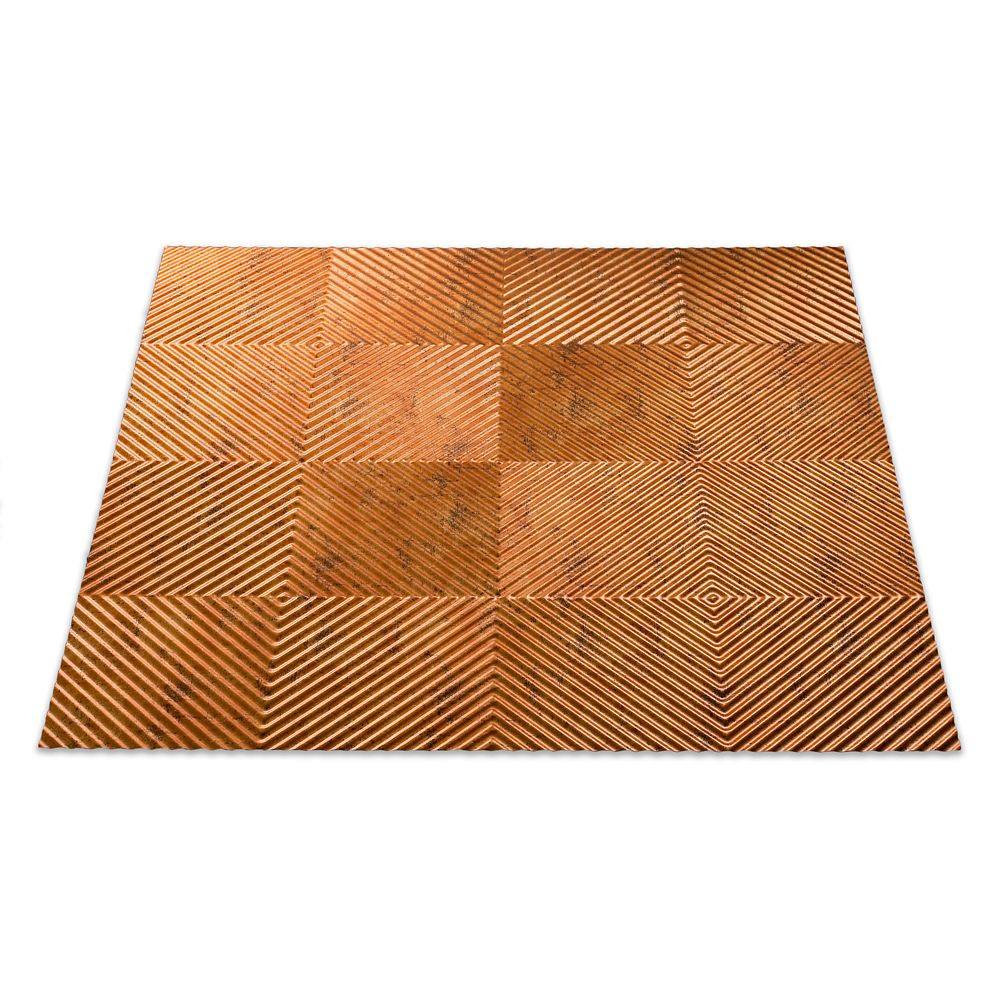 Quattro Muted Gold Ceiling Tile - 2x2