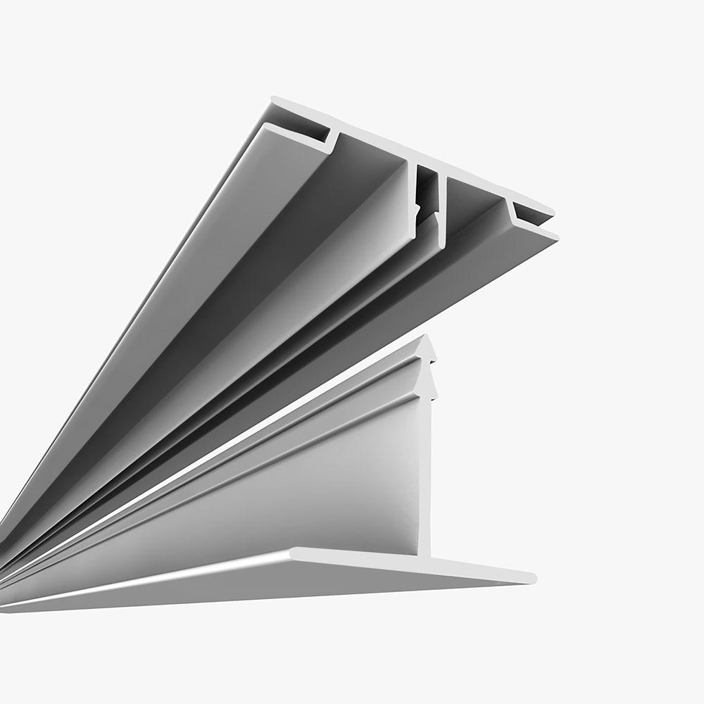 Surface Mount Kit White - 100 Square Feet