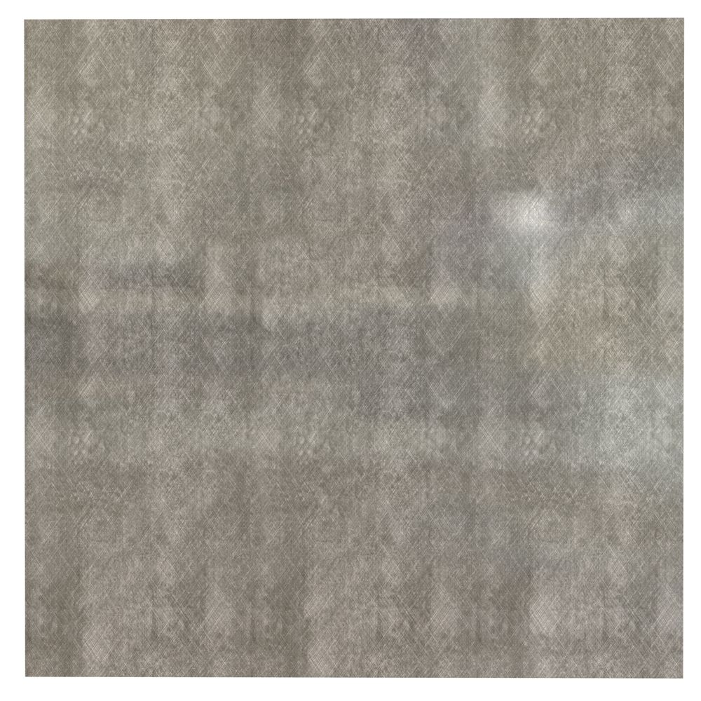 Tuile Pour Plafond 2x2 Sans Motif (Panneau Plat) à poser, Crosshatch Silver