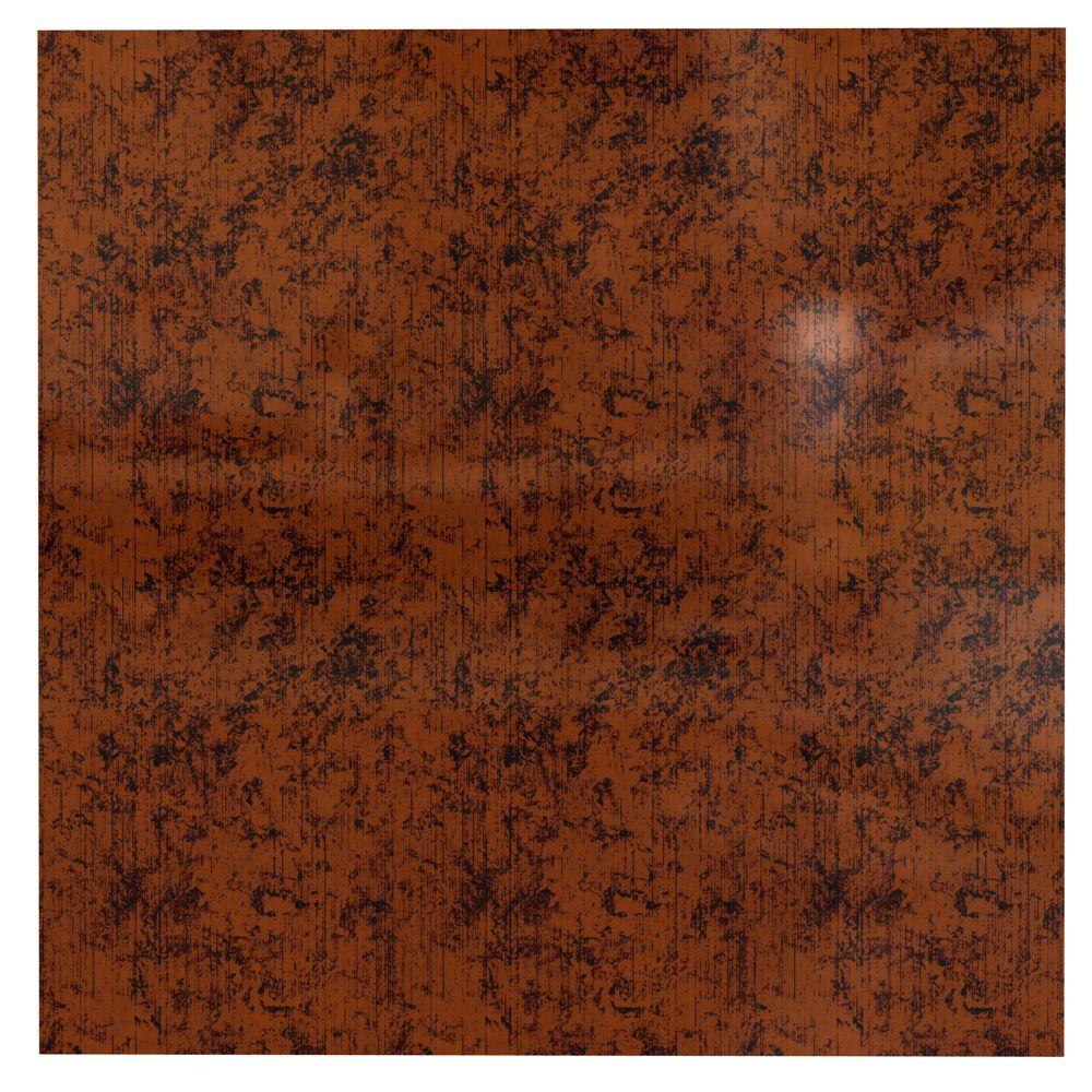Flat Panel Moonstone Copper Ceiling Tile - 2x2