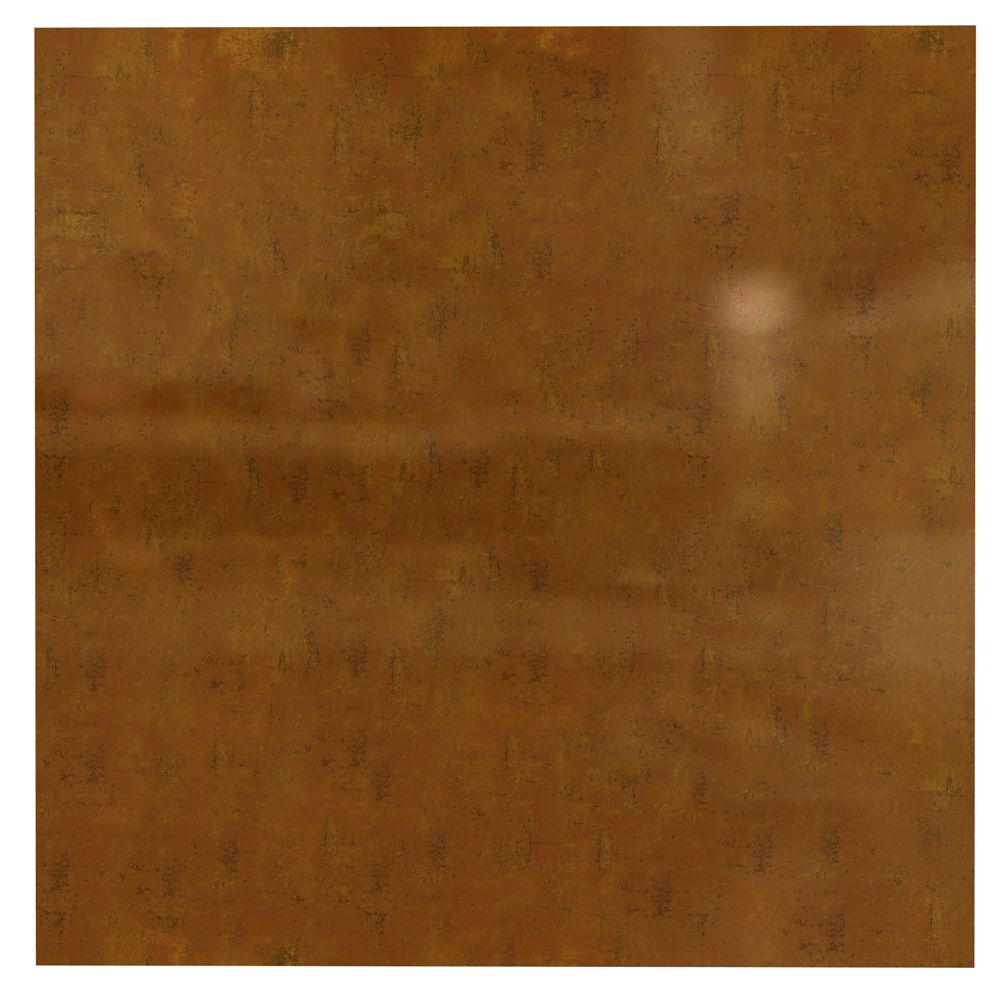Flat Panel Muted Gold Ceiling Tile - 2x2