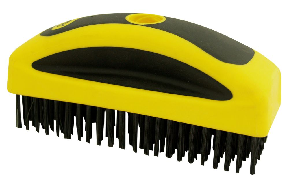 High carbon steel wire brush,8x22row