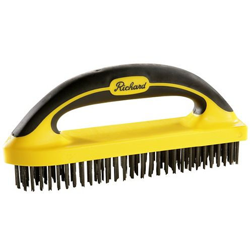A. Richard High Carbon Steel Wire Brush,6x30row