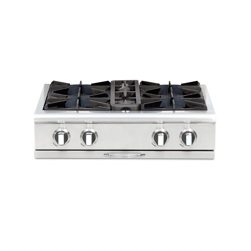 Capital Culinarian Series: 30 Inch 4 Open Top Burners Range Top LP