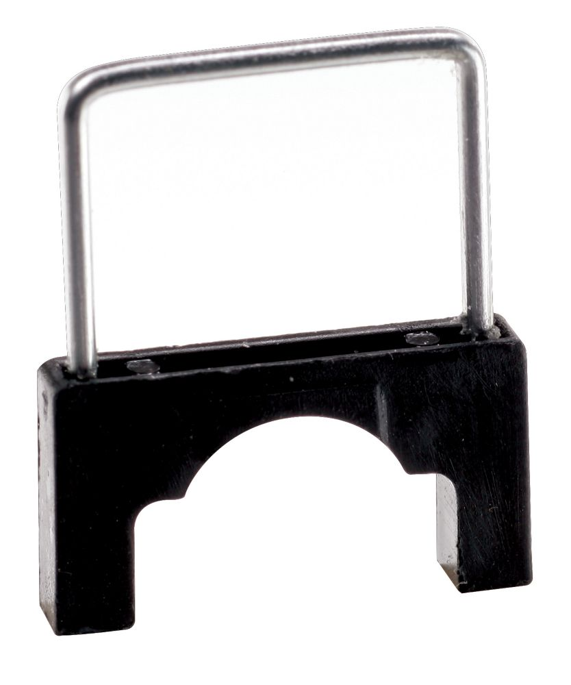 1/2 in. CableBoss Plastic and Metal Staples,  Black (200-Pack)