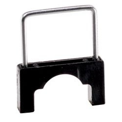 Gardner Bender 1/2 in. CableBoss Plastic and Metal Staples,  Black (200-Pack)