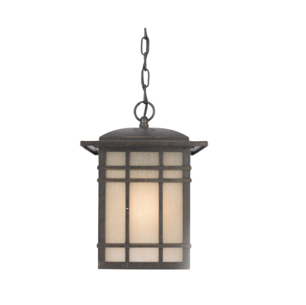 Monroe 1 Light Imperial Bronze Outdoor Compact Florescent Pendant Light