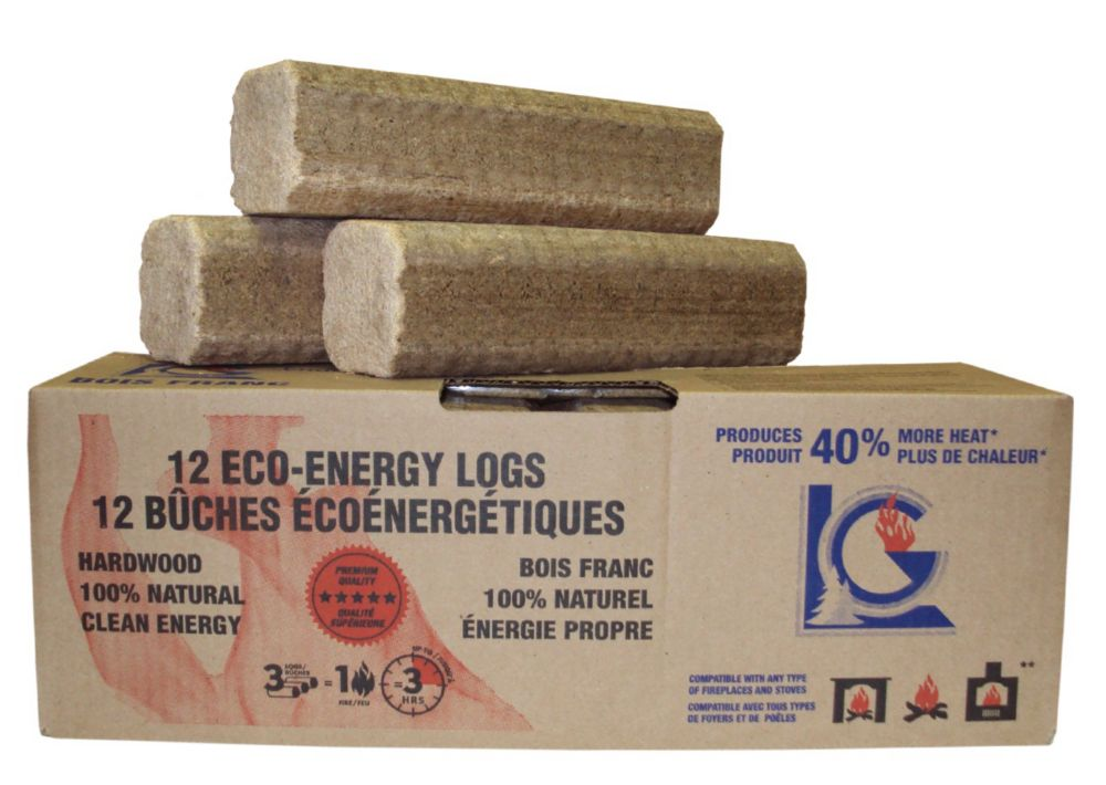 12 Logs Box 12 Logs Box x 3 Pounds (36 lbs)