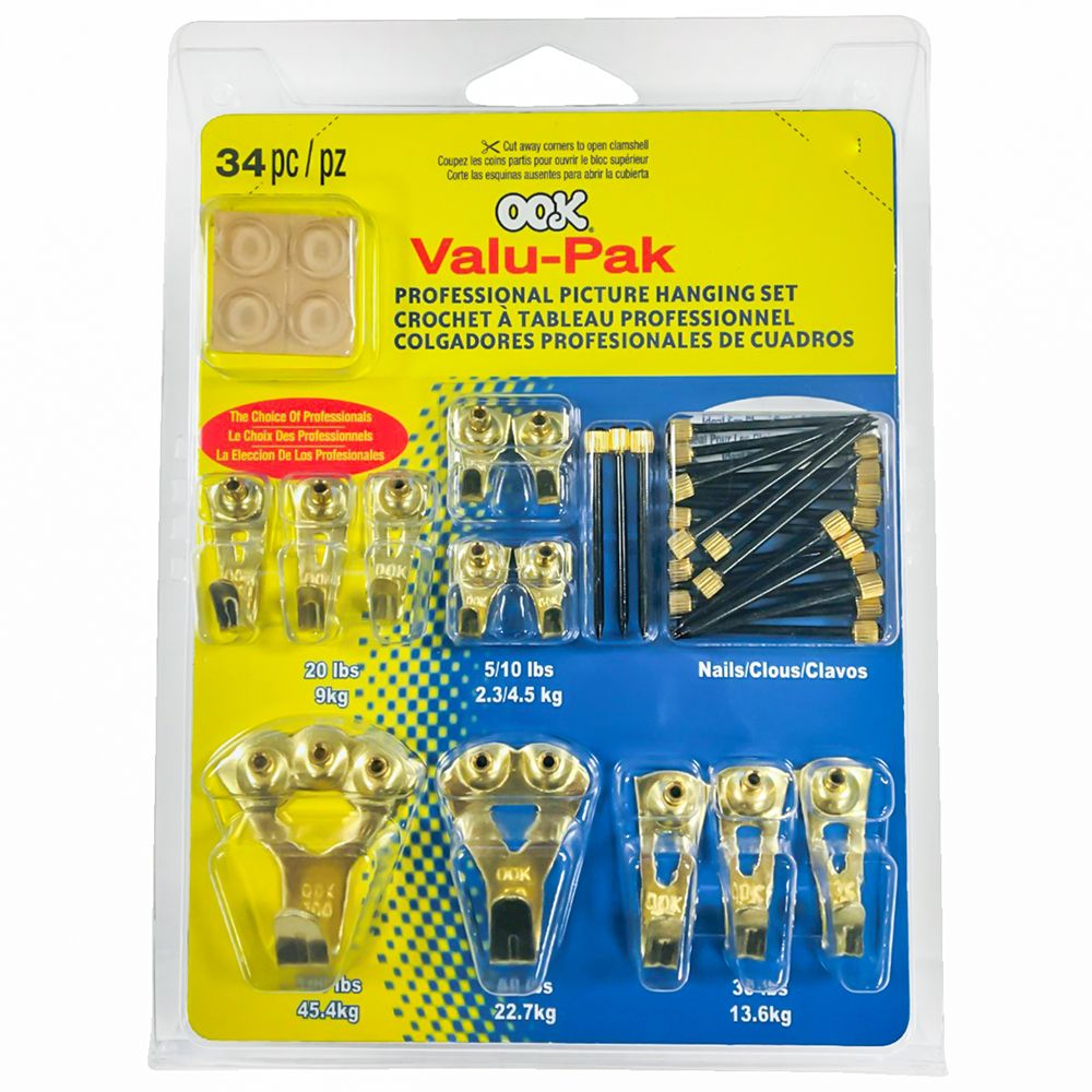 Ook Valu-Pack Pro Picture Hangers