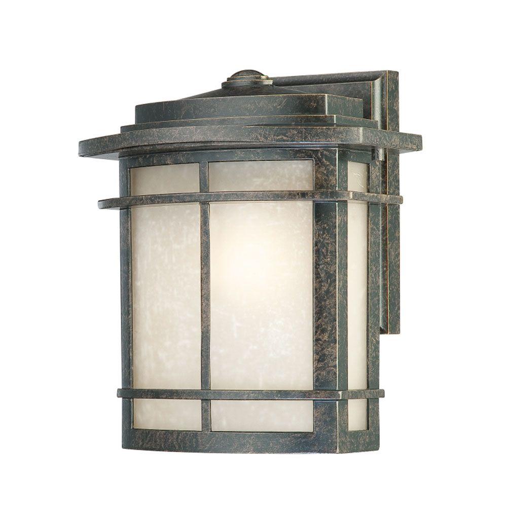 Monroe 1 Lumière Imperial Bronze Outdoor Compact Fluorescent Lanterne murale
