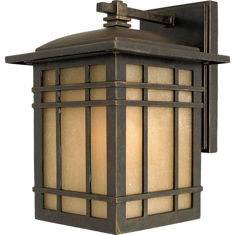 Monroe 1-Light Imperial Bronze Outdoor Wall Lantern