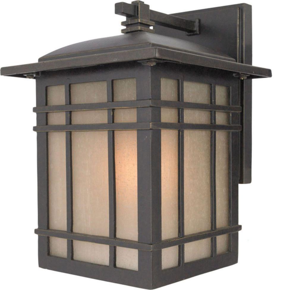 Monroe 1 Light Imperial Bronze Outdoor Compact Florescent Wall Lantern
